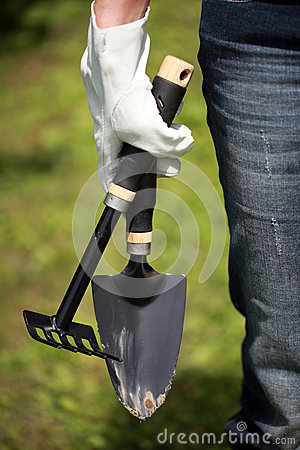 Gardening Hand Trowel and Fork