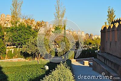 Gardens Alcazaba