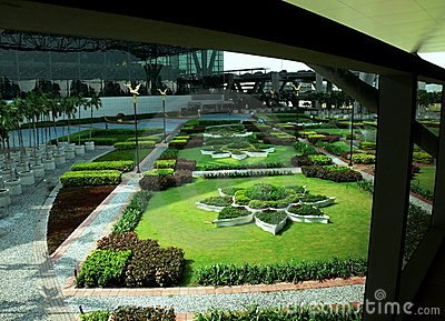 Gardens in Bankok