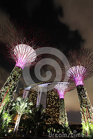 Gardens by the Bay Editorial Image