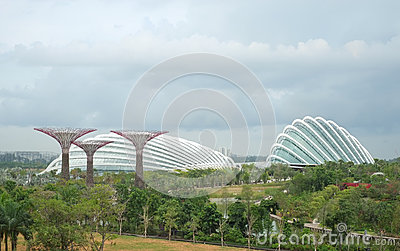 Gardens by the Bay, Singapore Editorial Photography