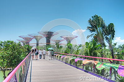 Gardens by the Bay, Singapore Editorial Image