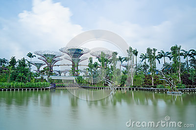 Gardens by the Bay, Singapore, long exposure Editorial Photography