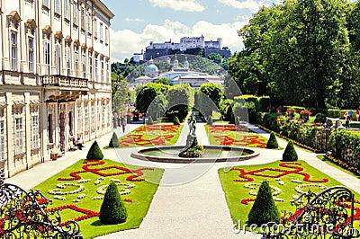 Gardens of Salzburg, Austria