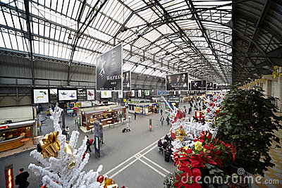 Gare de l'Est - Eastern Railway Station Editorial Stock Photo