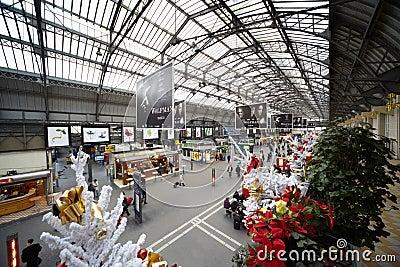 Gare de l'Est - Eastern Railway Station Editorial Stock Photo