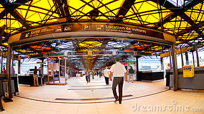 Gare de Lyon Editorial Photography