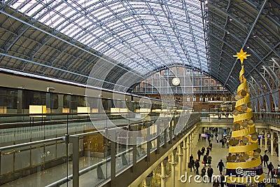 Gare de saint pancras londres angleterre photographie for Architecture victorienne a londres