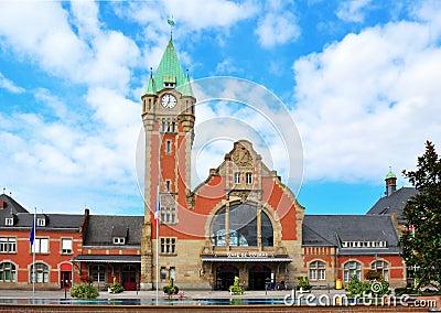 Gare du Colmar in Alsace, France