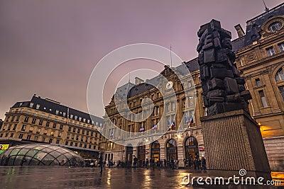 Gare Saint-Lazare Editorial Photo