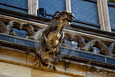 Gargoyle on cathedral
