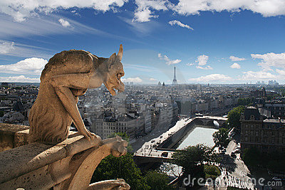 Gargoyle of Notre Dame Cathedral