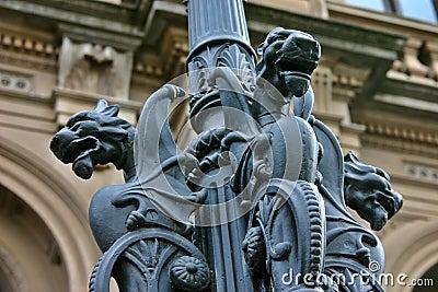 Gargoyles On lamp Post