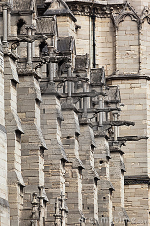 Gargoyles Notre Dame Cathedral Paris