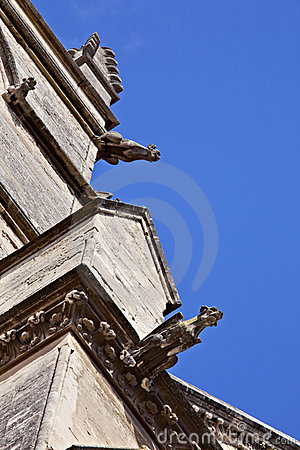 Gargoyles on the Saint Pierre Cathedral