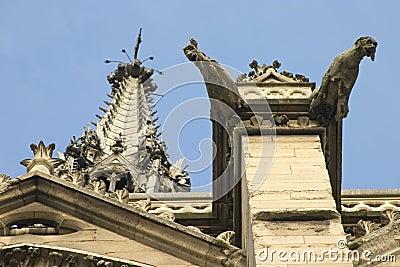 Gargoyles of St. Chappelle