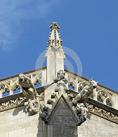 Free Gargoyles. Vienna. Royalty Free Stock Photo - 62833395