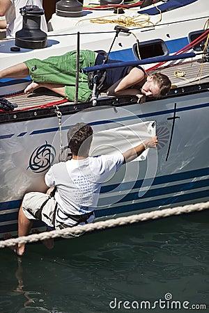 Garibaldi Tall Ships Regatta 2010 Editorial Stock Image
