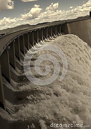 Free Gariep Dam Near Norvalspont Stock Photos - 55522603