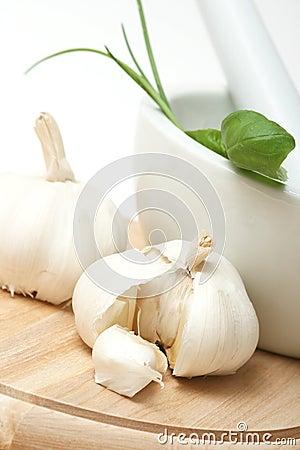 Free Garlic Royalty Free Stock Photography - 4862817