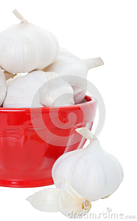 Garlic in Bowl