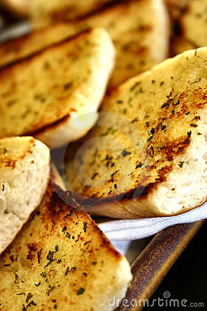 Free Garlic Bread Royalty Free Stock Image - 1031346