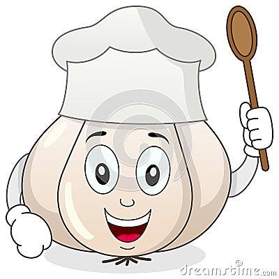 Garlic With Chef Hat C...