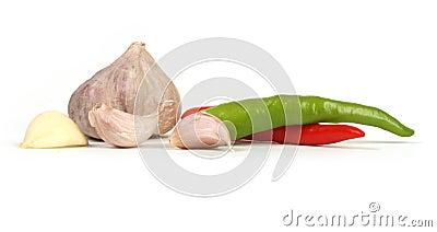 Garlic and chilli
