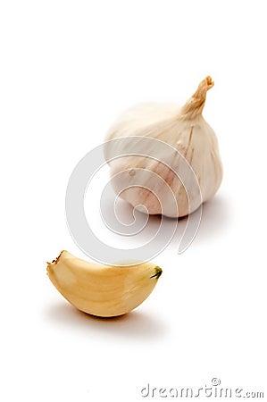 Free Garlic Clove And Bulb Stock Photos - 7359613