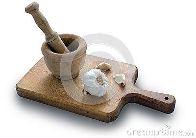 Garlic and Pestle