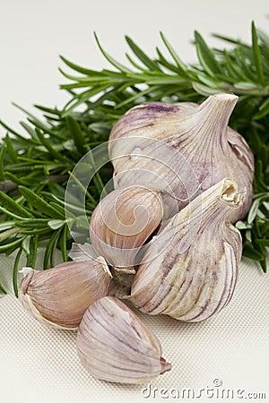 Garlic and Rosemary