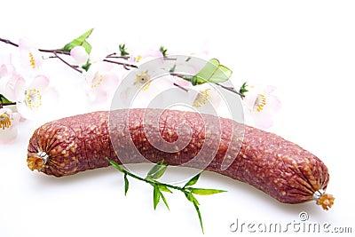 Garlic salami