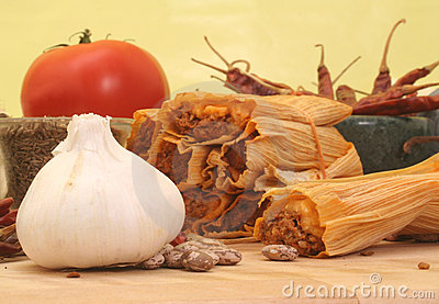 Garlic and Tamales