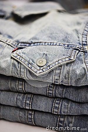 Garments pile