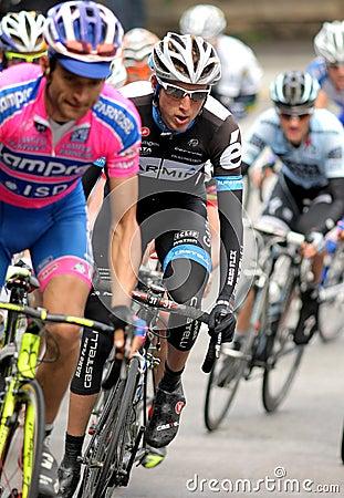 Garmin Cervelo s cyclist Irish Daniel Martin Editorial Stock Image