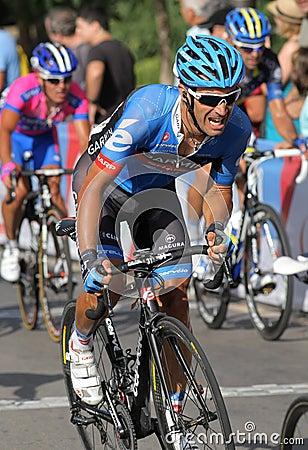 Garmin Sharp French cyclist Christophe Le Mevel Editorial Photo