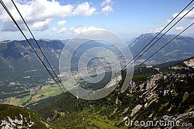 Garmisch-Partenkirchen in the german Alps