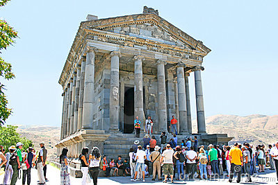 Garni temple Editorial Photo