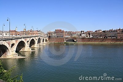 The Garonne in Toulouse.