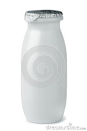 Garrafa do iogurte