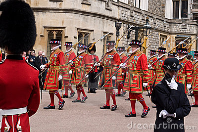 Garter Day Windsor Castle Editorial Photo