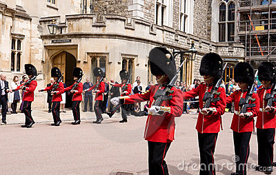 Garter Day Windsor Castle Editorial Stock Photo