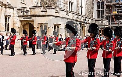 Garter Day Windsor Castle Editorial Stock Photo