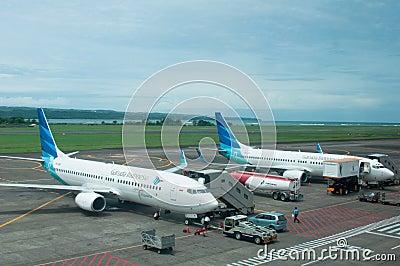 Garuda Indonesia Editorial Photo