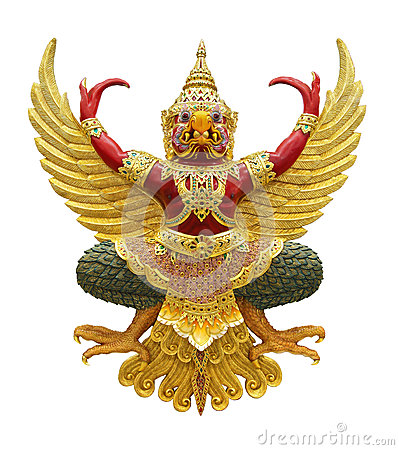 Free Garuda Statue Royalty Free Stock Photos - 31082758