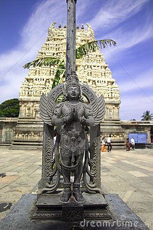 Free Garuda Statue,Belur,India Stock Photo - 7406610