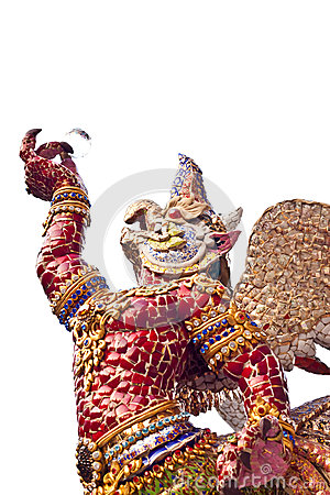 Free Garuda Statue In Thailand Royalty Free Stock Photography - 30247897
