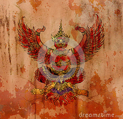 Garuda, Thai mythology eagle