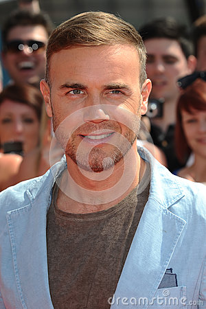 Gary Barlow Editorial Photography