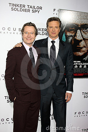 Gary. Oldman, Gary Oldman, Colin Firth Editorial Photo